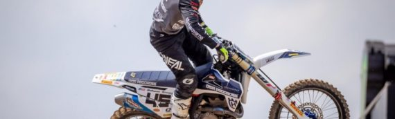 First MXGP Podium for Davy Pootjes and DIGA-Procross Husqvarna